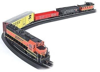 Bachmann 00706 HO Scale Rail Chief Ready To Run Train Set