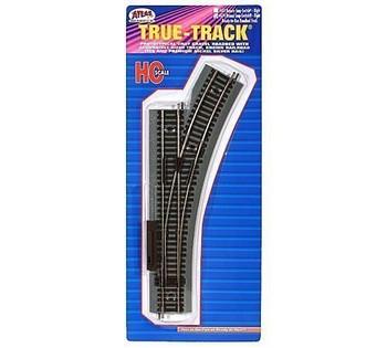 ATLAS MODEL 479 True-Track Manual Snap Switch Right True-Track HO