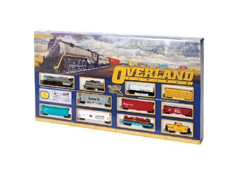 Bachmann 00614 HO Scale Overland Limited Ready To Run Train Set