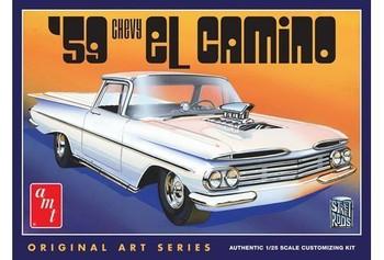 AMT 1058 1:25 1959 Chevy El Camino (Original Art Series)