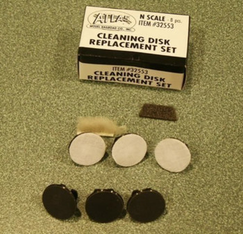 Atlas 32553 Track Clean Disc Replacement Set