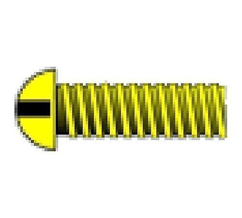 """2-56 1/2"""" Round Head Machine Screw (5)"""