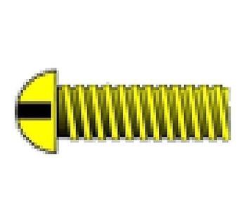 """2-56 3/8"""" Round Head Machine Screw (5)"""