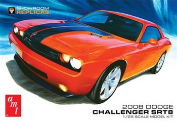 AMT 1075 1:25 2008 Dodge Challenger SRT8 Model Kit