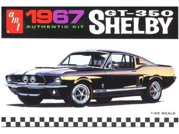 AMT 834 1:25 67 SHELBY GT350 BLK