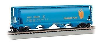 Bachmann 19139 HO Scale Heritage Fund 4 Bay Cylindrical Grain HoHopper