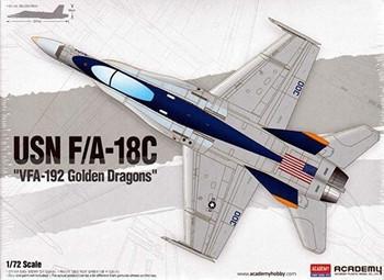 Academy 12564 1/72 USN F/AC GOLDEN DRAG
