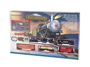Bachmann 00626 HO Scale Chattanooga Ready - To - Run Train Set