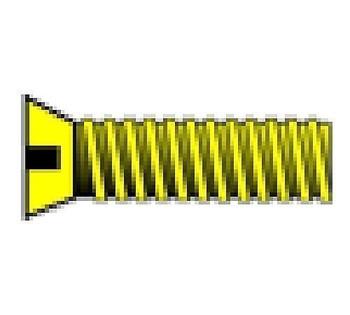 "2-56 1/8"" Flat Head Machine Screw (5)"