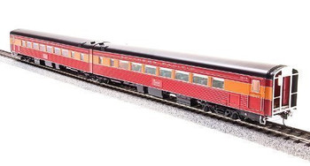 Broadway Limited 1766 HO Articulated Chair Car,SP/1953 Coast Daylight#10