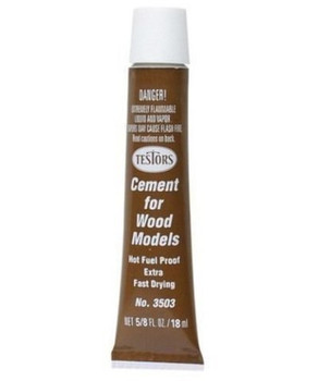 Fast Drying Wood Cement by Testors