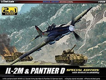 Academy 12538 1:72 IL2M & PANTHER D