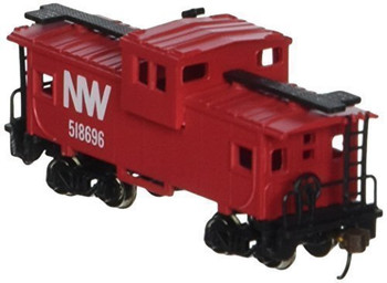 Bachmann 70792 N Scale 36' Wide Vision Caboose Norfolk and Western