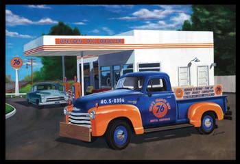 AMT 1076 1:25 1950 Chevy Pickup (Union 76) Model Kit