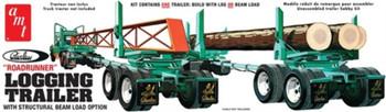 AMT 1103 1:25 Peerless Logging Trailer Model Kit
