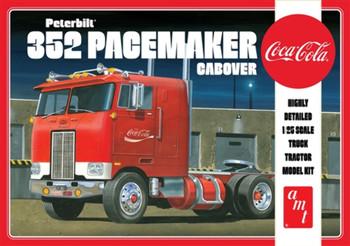 AMT 1090 1:25 Peterbilt 352 Pacemaker Cabover (Coca Cola) Model Kit