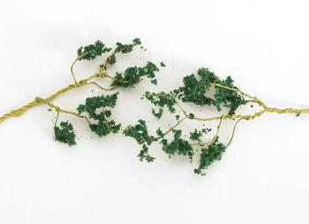 Bachmann 32646 Wire Foliage Branches Dark Green SceneScapes