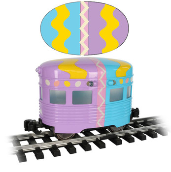 Bachmann 96277 Large Scale Easter Eggliner