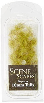 Bachmann 31041 Scenery SceneScapes Grass Tufts, Light Green, 10mm