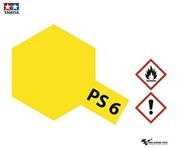 Polycarbonate PS-6 Yellow, Spray 100 ml