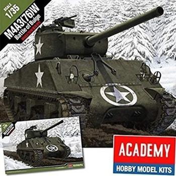 Academy 13500 1:35 M4A3 BATTLE BULDGE