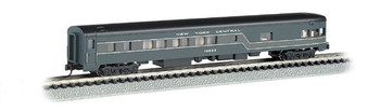 Bachmann 14355 N Scale New York Central - 85ft Smooth-Sided Observation