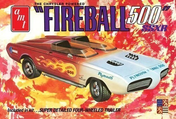 AMT 1068 1:25 George Barris Fireball 500 (Commemorative Pkg)