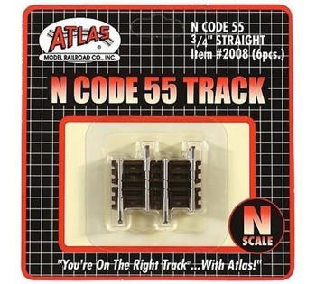 """Atlas 2008 N .75"""" STRAIT CODE 55 6PK"""