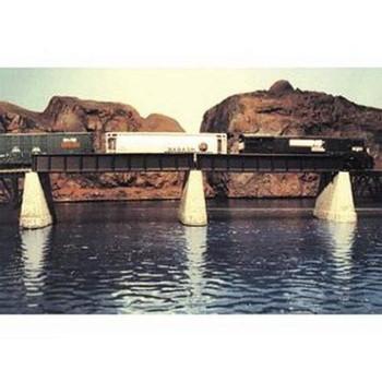Atlas 885 HO PLATE GIRDER BRIDGE -NICK