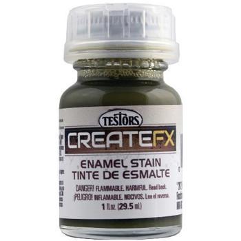 CreateFX Enamel Stain 1oz-Green