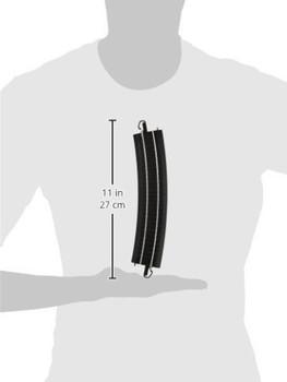 Bachmann 44403 HO Scale E-Z Track 22Radius Curved Track (4/card)