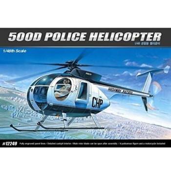 Academy 12249 1:48 HIGHES 500D  POLICE
