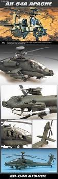Academy 12262 1/48 AH-64A APACHE USA