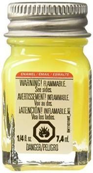 Testors Enamel Paint Open Stock .25oz-Yellow Fluorescent