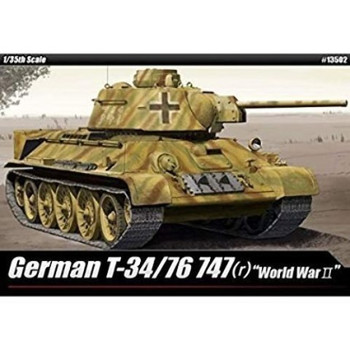 Academy 13502 1:35 GERMAN T 34/76 747