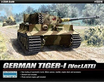 Academy 13314 1:35 TIGER 1 LATE VERSION