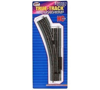 Atlas 478 HO True-Track Manual Left-Hand Switch