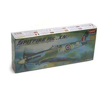 Academy 12484 1:72 Scale Kit Supermarine Spitfire Mk.xiv Model Kit