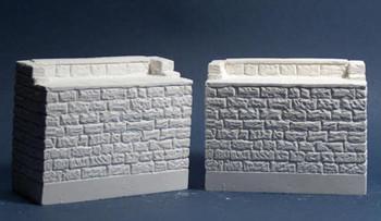 Monroe Models 953 Bridge Abutments  Granite  2-Pack  On30, On3, S, Sn3
