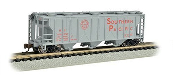 Bachmann 73853 N Scale PS-2 Southern Pacific Three-Bay Covered Hopper Vehicle