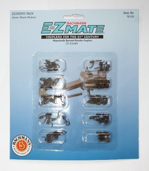 Bachmann 78125 E-Z Mate Mark II Magnetic Couplers w/Metal Spring Center Shank