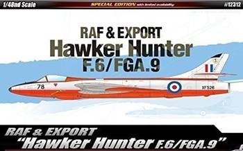 Academy 12312 1:48 R4AF & EXPORT HAWKER