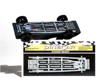 PineCar P3910 4 WHEEL DRIVE CHASSIS WH