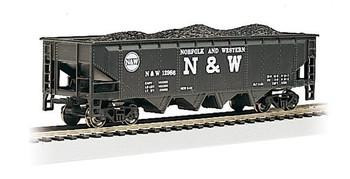 Bachmann 17607 HO Scale N&W 40' QUAD Hopper #12986