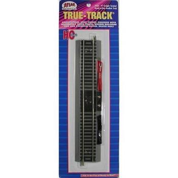 Atlas HO Scale True-Track 9 inch Terminal Straight Track