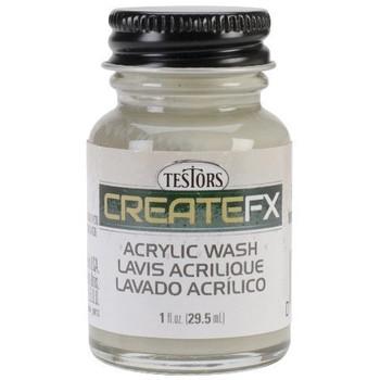 Createfx Acrylic Wash 1oz-Driftwood