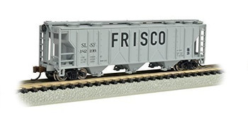 Bachmann 73855 N Scale PS-2 Frisco Three-Bay Covered Hopper Vehicle