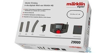 Marklin 29000 DIGITAL START SET W/STATN