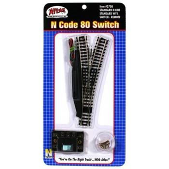 Atlas N Scale Code 80 Turnout Remote Wye