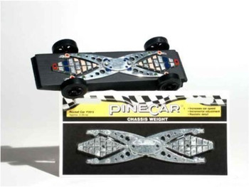 PineCar P3913 ROCKET CAR CHASSIS WEIGHT